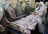 В Пскове представители московской православной службы «Милосердие» провели занятия по уходу за тяжелобольными