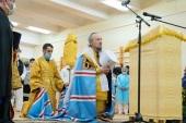 Патриарший экзарх всея Беларуси вручил церковные награды медицинским работникам 6-й городской больницы Минска
