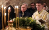 Поздравление Президента РФ В.В. Путина по случаю праздника Рождества Христова