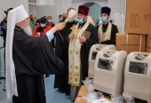 20 кислородных концентраторов передала медикам Одесская епархия