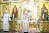 В праздник Рождества Христова митрополит Рижский Александр совершил Литургию в кафедральном соборе латвийской столицы