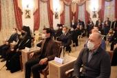 В столице Калмыкии прошел прием в честь праздника Рождества Христова и 25-летия Элистинской епархии