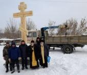 В Каменской епархии установлен крест над могилами священномучеников