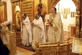 На зарубежных приходах Русской Православной Церкви молитвенно отметили Рождество Христово