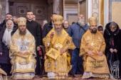 В Неделю по Рождестве Христовом Блаженнейший митрополит Онуфрий совершил Литургию в Киево-Печерской лавре