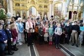 Патриарший экзарх всея Беларуси поздравил с Рождеством Христовым детей из районов, пострадавших от катастрофы на Чернобыльской АЭС