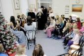 Архиереи Русской Православной Церкви посетили на Рождество больницы и социальные учреждения
