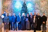 На Всехсвятском приходе города Минска состоялась презентация книги «Храм-памятник земли Белорусской»