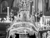 Патриаршее соболезнование в связи с кончиной старшего священника Иоанновского ставропигиального монастыря г. Санкт-Петербурга протоиерея Николая Беляева