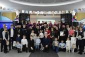 Глава Казахстанского митрополичьего округа принял участие в чествовании многодетных семей Петропавловско-Булаевской епархии
