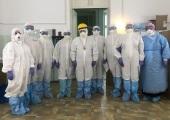 Епископ Шуйский Матфей посетил больных коронавирусной инфекцией в Центральной районной больнице г. Шуя