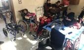 Представитель Патриарха Московского и всея Руси при Антиохийском Патриаршем престоле передал в дар инвалидные коляски для сирийских детей
