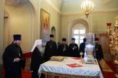 Митрополит Крутицкий Ювеналий привел к присяге членов церковного суда Московской областной епархии
