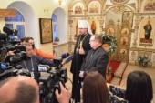 Более трех тонн гуманитарного груза для противодействия COVID-19 передано Владивостокской епархии Императорским православным палестинским обществом