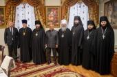 Состоялась встреча архиереев Татарстанской митрополии с президентом Республики Татарстан