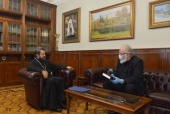 Состоялась встреча председателя ОВЦС с послом по особым поручениям МИД России