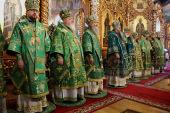 В Серафимо-Дивеевском монастыре прошли торжества в день памяти преподобного Серафима Саровского