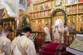 В Алма-Ате молитвенно почтили память небесных покровителей города священномучеников Николо-Кучугурских