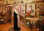 В канун праздника Крещения Господня Святейший Патриарх Кирилл совершил всенощное бдение в Александро-Невском скиту