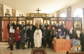 The Epiphany is celebrated at the Russian Orthodox Church Representation in Damascus