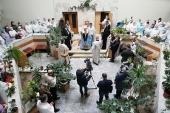 В праздник Богоявления Патриарший экзарх всея Беларуси посетил 10-ю городскую клиническую больницу Минска
