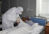 В праздник Богоявления клирики Пензенской епархии посетили пациентов с коронавирусом в «красной» зоне областной больницы