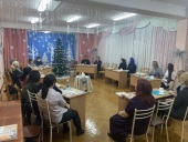 В Минске прошел Рождественский вечер для родителей детей с нарушением зрения