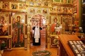 В канун Недели 33-й по Пятидесятнице Святейший Патриарх Кирилл совершил всенощное бдение в Александро-Невском скиту
