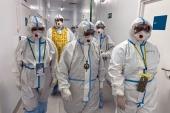 Председатель Синодального отдела по благотворительности посетил пациентов с коронавирусом в инфекционной больнице № 2 г. Москвы
