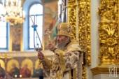 В Неделю по Богоявлении Блаженнейший митрополит Киевский Онуфрий совершил Литургию в Киево-Печерской лавре