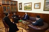 Председатель ОВЦС встретился с новоназначенным послом Хашимитского Королевства Иордания в Российской Федерации
