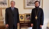 Митрополит Корсунский и Западноевропейский Антоний встретился с послом РФ в Ватикане А.А. Авдеевым