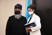 Глава Казахстанского митрополичьего округа встретился с министром информации и общественного развития Республики Казахстан