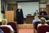 Председатель Синодального отдела по благотворительности встретился с медсестрами детской больницы святого Владимира г. Москвы