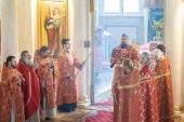 Управляющий делами Московской Патриархии возглавил престольные торжества храма мученицы Татианы при Московском государственном университете