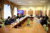 Ответственный секретарь Синодального комитета по взаимодействию с казачеством принял участие в совещании, посвященном поддержке казачьих инициатив