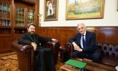 Митрополит Волоколамский Иларион встретился с послом Азербайджана в России