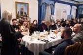 Победители конкурса «Лидеры России» посетили ряд церковных социальных проектов в Москве