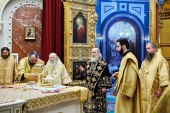 His Holiness Patriarch Kirill celebrates Divine Liturgy at Christ the Saviour Cathedral marking 12th anniversary of his enthronement
