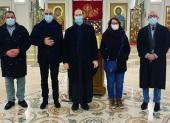 Сотрудники страсбургской мэрии посетили храм Русской Церкви