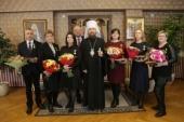 Глава Челябинской митрополии вручил Патриаршие медали врачам, работающим в «красной» зоне