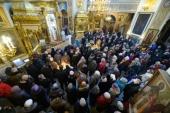 В 15-ю годовщину преставления архимандрита Иоанна (Крестьянкина) в Псково-Печерском монастыре совершены памятные богослужения