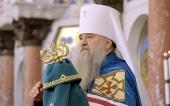 Патриаршее поздравление митрополиту Санкт-Петербургскому Варсонофию с 30-летием архиерейской хиротонии