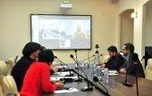 Третий выпуск дистанционной богословской магистратуры прошел в Учебном комитете Русской Православной Церкви