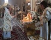 В 10-ю годовщину преставления настоятельницы Пюхтицкого монастыря схиигумении Варвары (Трофимовой) в обители состоялось заупокойное богослужение