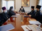Глава Архангельской митрополии провел совещание, посвященное строительству новых православных храмов в Архангельске