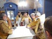 Епископ Выборгский Игнатий совершил чин обновления храма Казанского скита Коневской обители