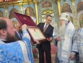 В праздник Сретения Господня в Казахстанском митрополичьем округе отметили 30-летие учреждения Уральской епархии