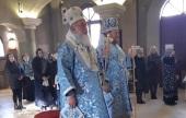 Праздник Сретения Господня отметили на подворье Русской Православной Церкви в Белграде