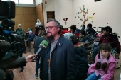 Помощь школе для детей с инвалидностью передал представитель Русской Церкви в Дамаске